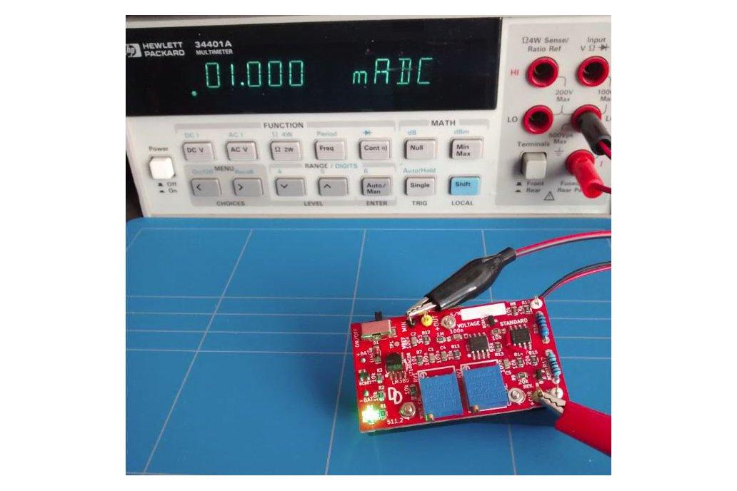 Voltage standard reference multimeter tester 2