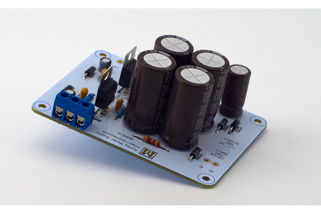 Muffsy Hifi Dual Power Supply V4 -Kit 1