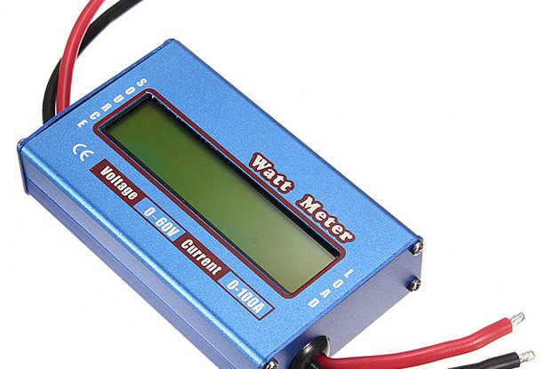 Digital LCD Voltage Power Display