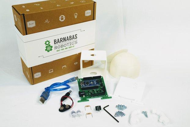 Barnabas-Bot: 3D printed Arduino-based robot
