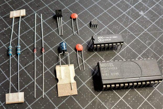 SNES Repro, Components