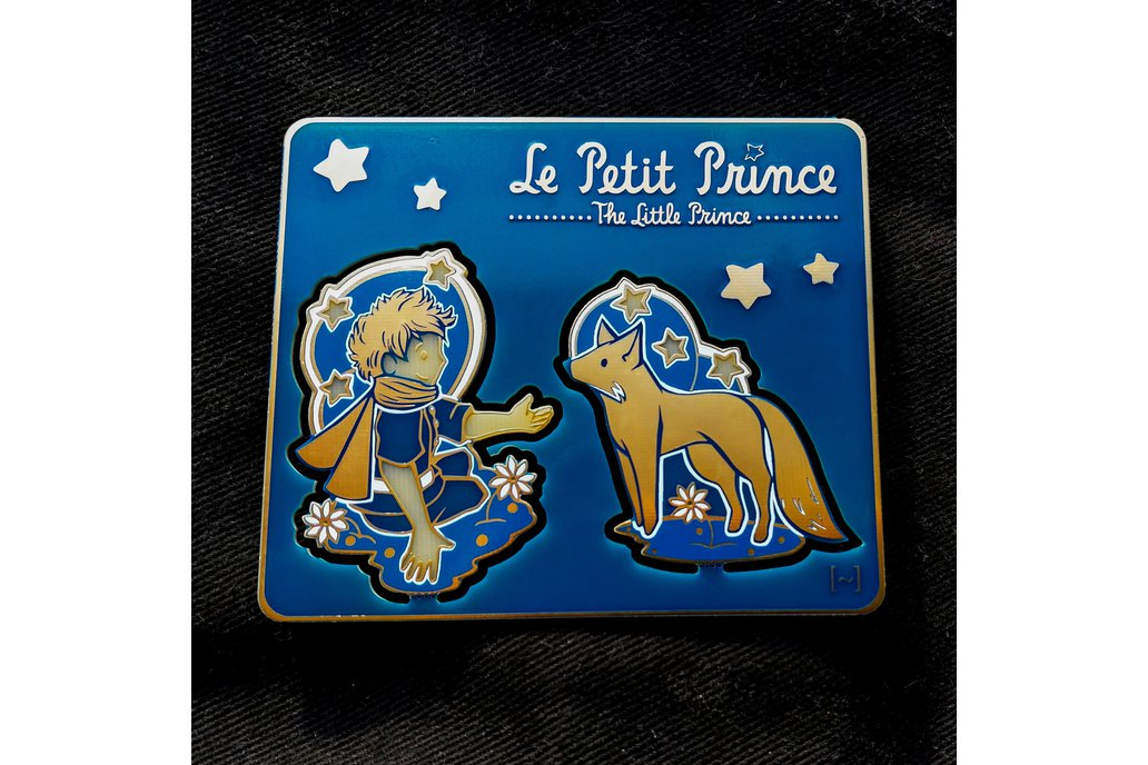 The Little Prince pin set 1