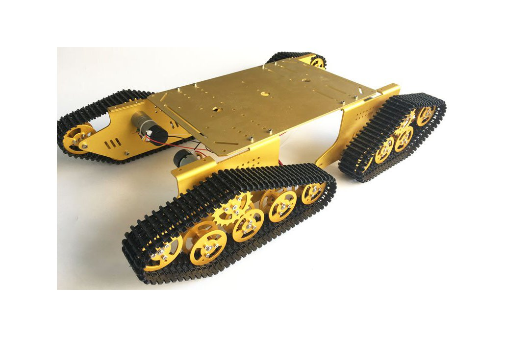 4WD Metal robot Wall-E Tank Track 8