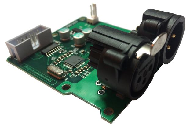 SPI to DMX controller