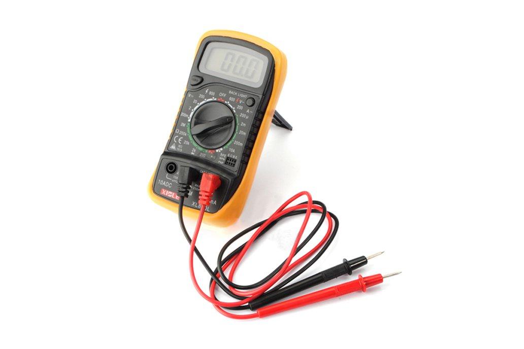 LCD Digital Voltmeter Ohmmeter Ammeter Tester 6