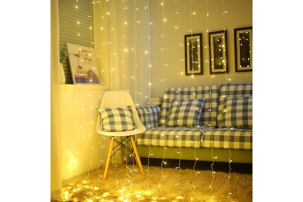 Festival decoration curtain lights 1