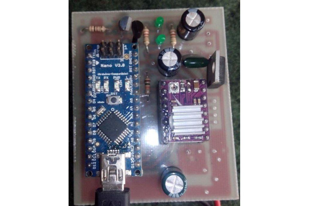 3D Scanner control board 1