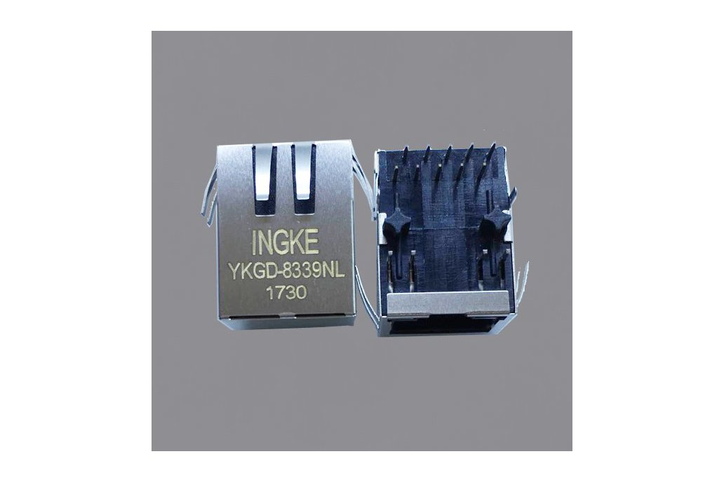 YKGD-8339NL 1000  Tab Down RJ45 Ethernet Connector 1