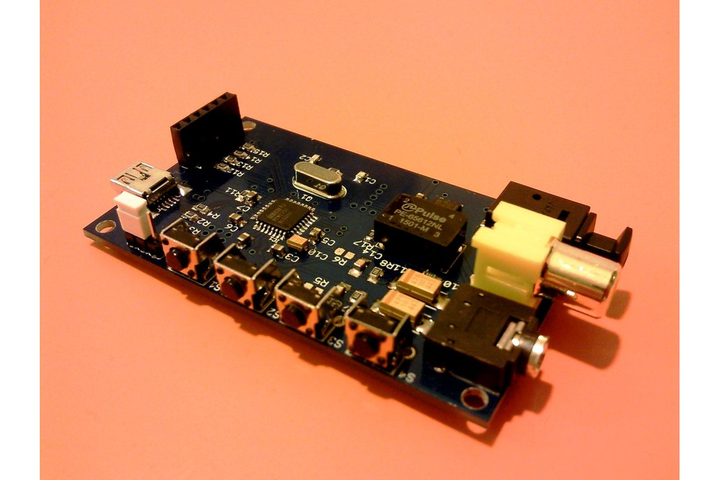 PCM2706 USB DAC with S/PDIF and I2S interface 1