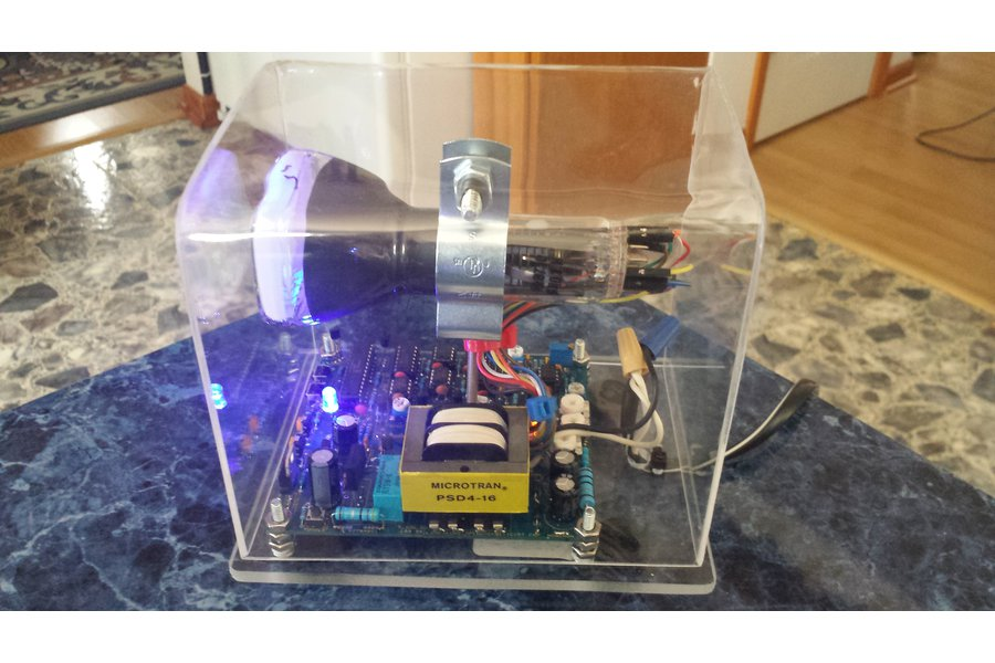 Oscilloscope Clock Analog Display Cathode Ray Tube