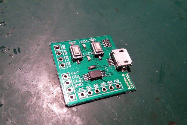 Small ARM developmentboard