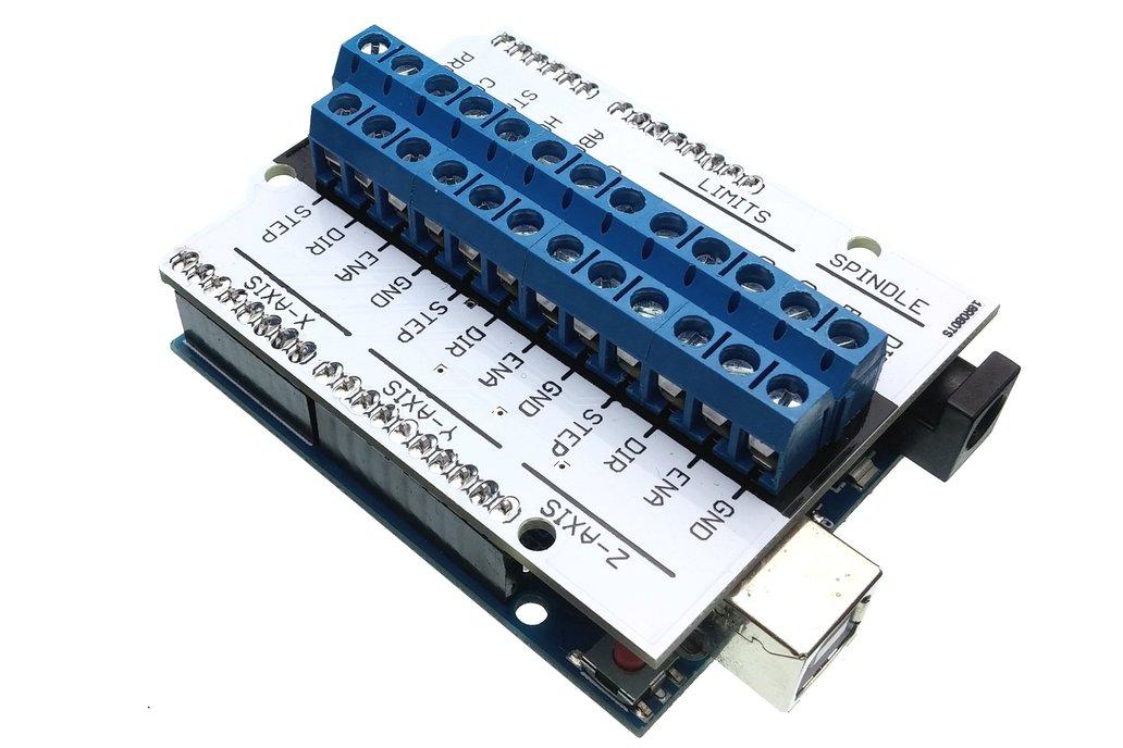 GRBL Compatible CNC Shield for Arduino 3