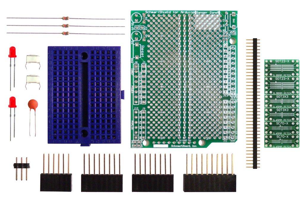 SchmartBoard|ez SOT23 & SC70 (Arduino Uno) 1
