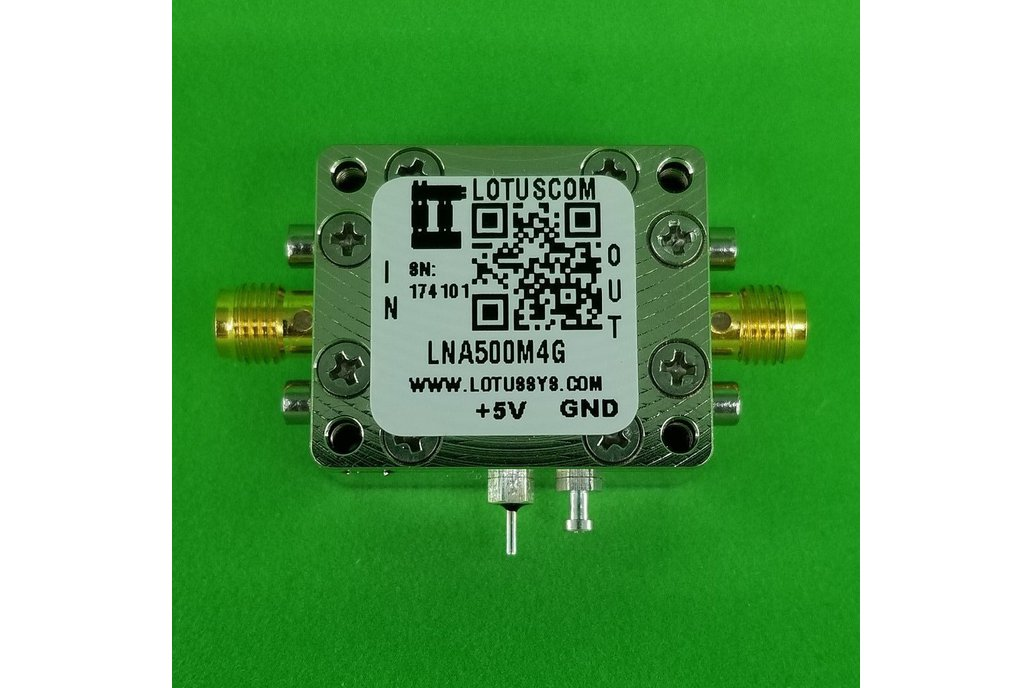 Amplifier LNA 1.3dB NF 500MHz to 4GHz 1