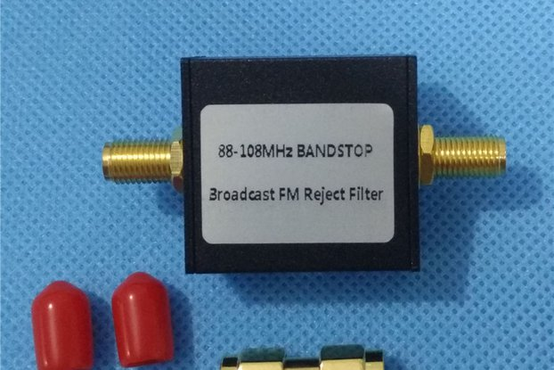 Broadcast FM Band Stop Filter 88 - 108 MHz FM Trap