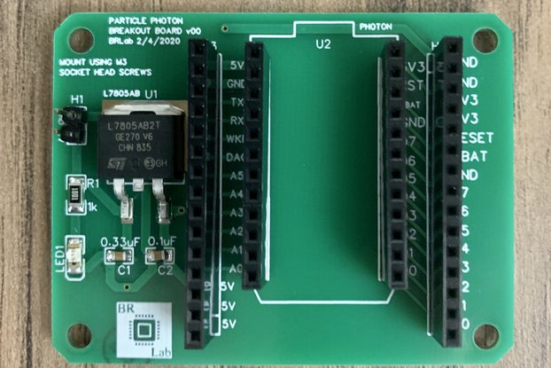 Particle Photon Breakout Board
