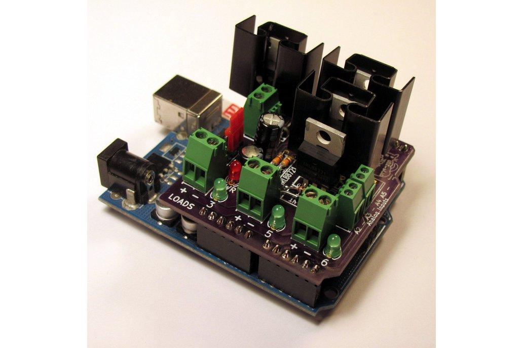 MOSFET Jr Arduino Shield Kit 3