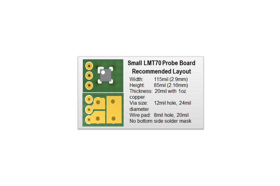 MLT LMT70 Small Probe Board