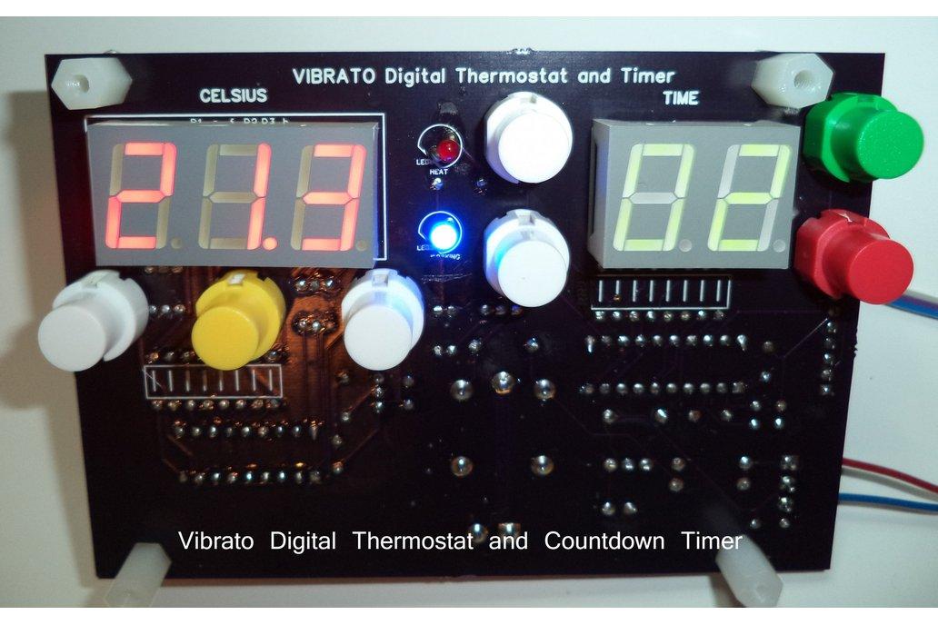 6 Quart 60kHz VIBRATO Ultrasonic Cleaner 4