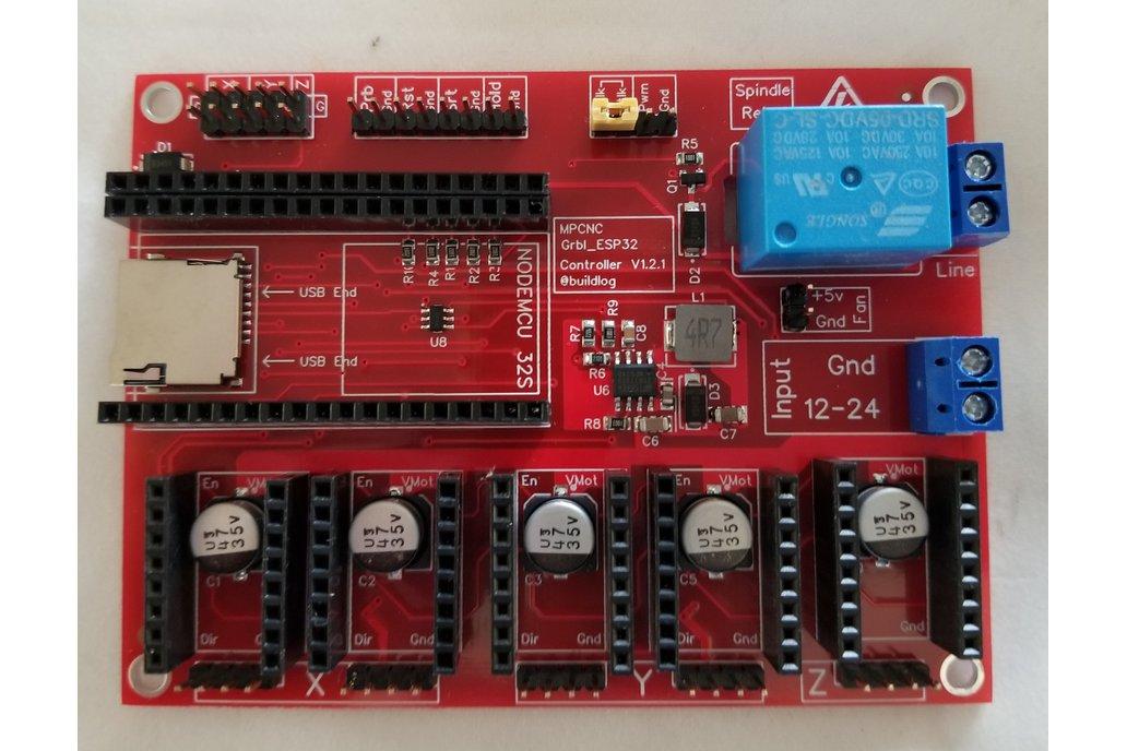 Grbl_ESP32 MPCNC CNC Controller Ver 1.2.2 1