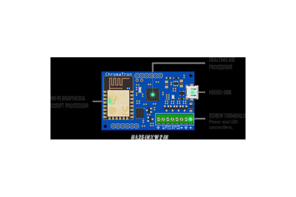 Chromatron - WIFI LED Pixel Controller 3