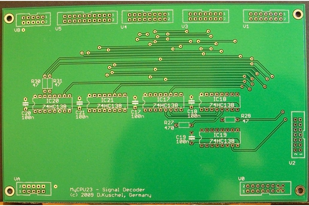 MyCPU - Set of Blank Printed Circuit Boards 2
