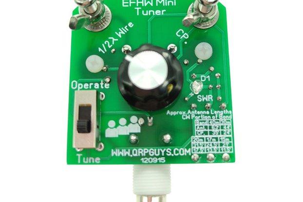EFHW 40m-15m 5W Mini Tuner antenna DIY Kit