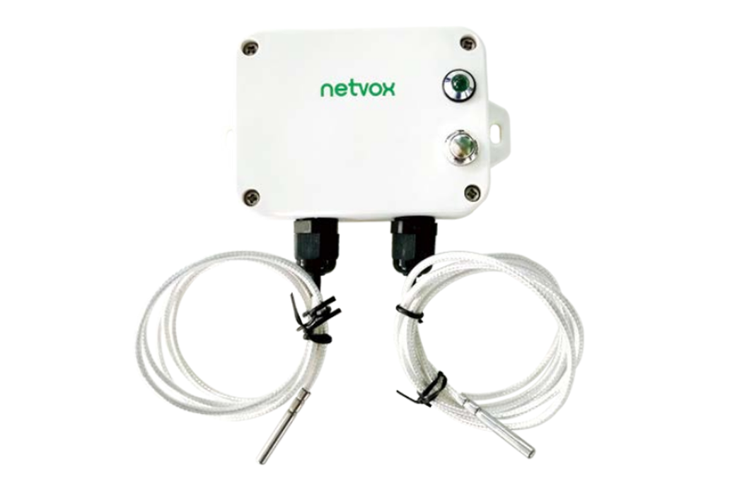 Netvox Wireless 2-Gang Thermocouple Sensor R718CK2 1