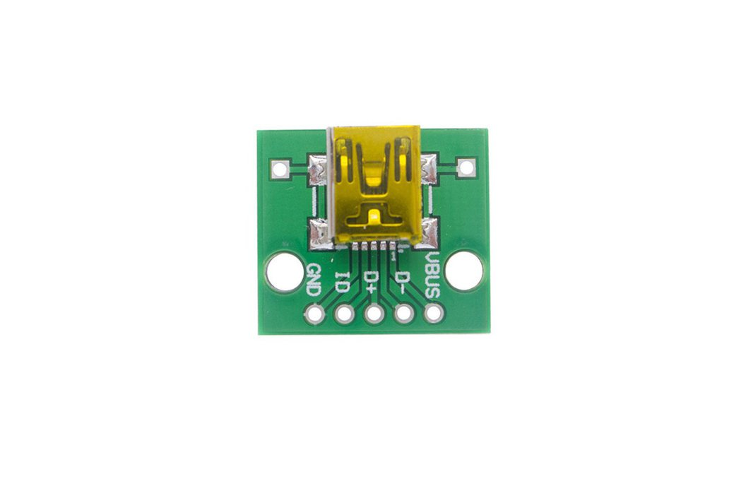 MINI USB Turn DIP Female Head 1