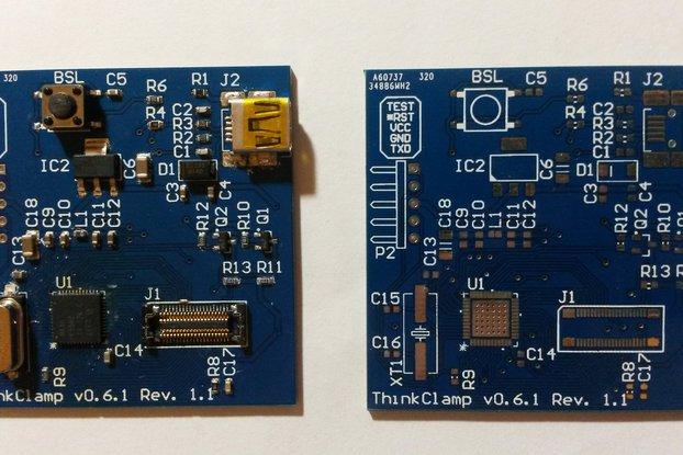 ThinkPad USB keyboard adapter v0.6.1 Rev 1.1 (PCB+receptacle)