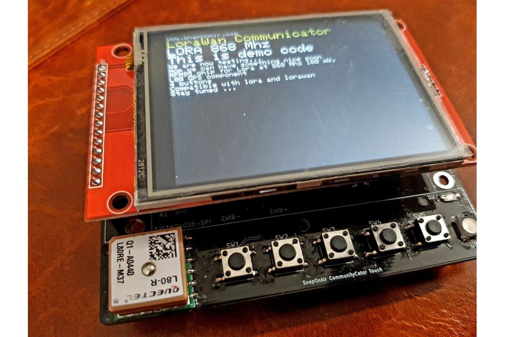 SnapOnAir Lora Pager PCB 6