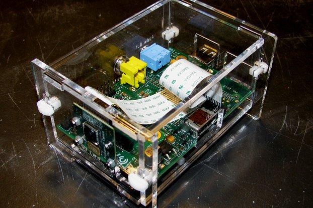 Raspberry Pi and Camera Enclosure