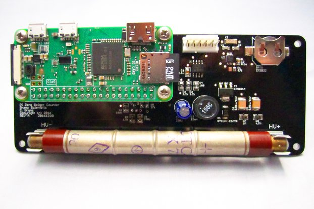 Raspberry Pi Zero IoT Geiger Counter