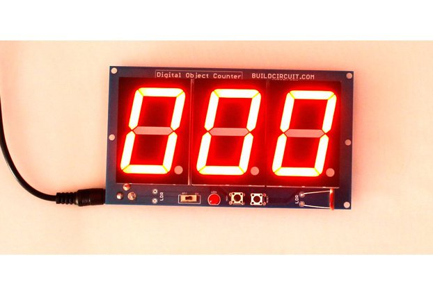 Digital Objects Counter with 1.8 inch displays