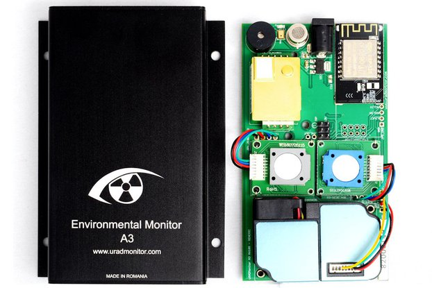 uRADMonitor A3: Air Quality Monitor