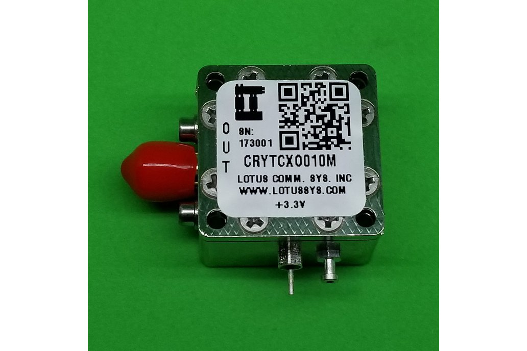 Oscillator-TXCO (Stratum 3) 10 MHz (0.28 ppm) 1