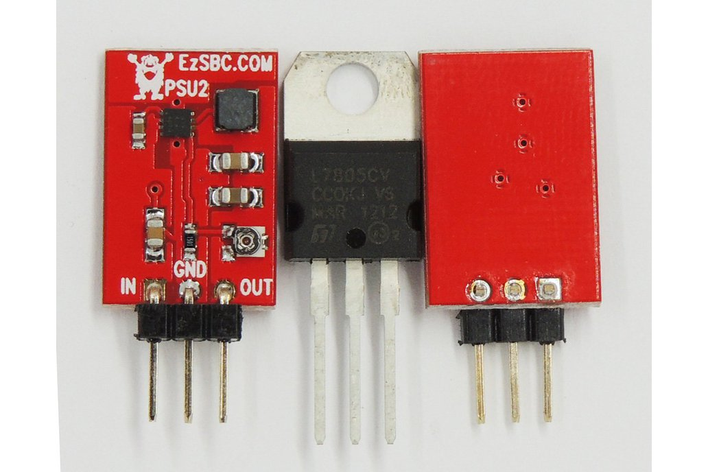 1A Adjustable 3-Pin Switch-Mode Voltage Regulator 2