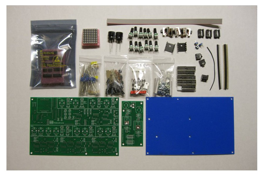 Videodrone Drone and Lo-fi Video Synth Kit