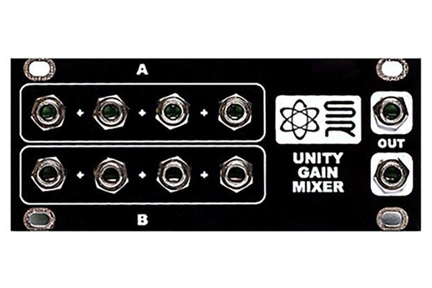 1U Unity Gain Mixer Eurorack Module
