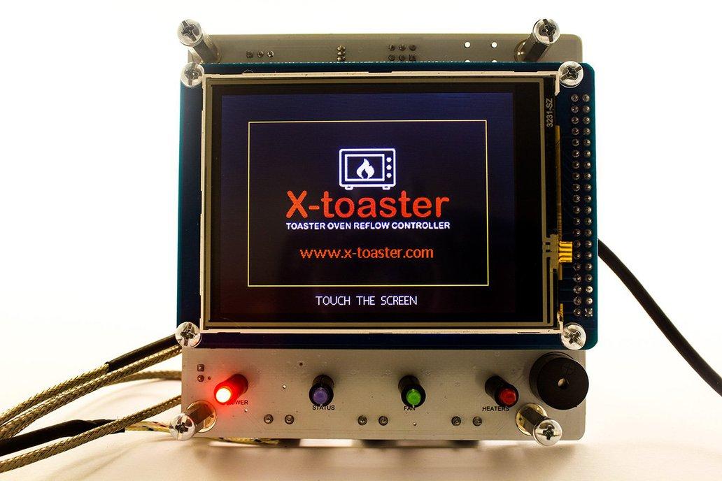 X-toaster | Toaster Oven Reflow Controller - KIT 2