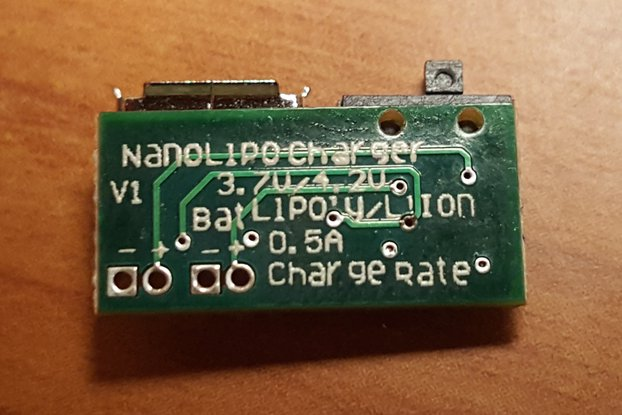 Nano Lipo Charger Switch