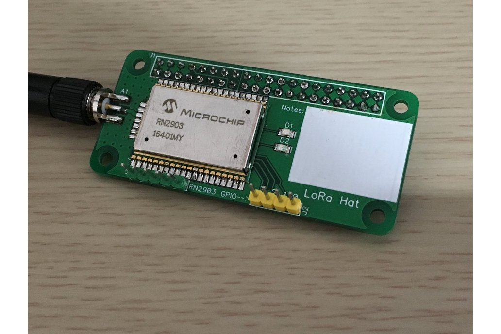 LoRa Hat for Raspberry Pi Zero