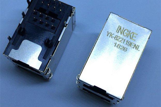 5569381-1 Through Hole RJ45 Modular Jacks 8p8c