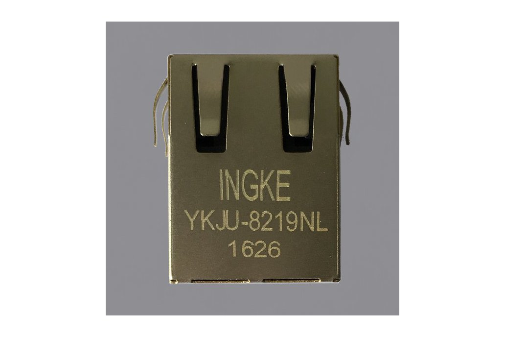 6605759-1 YKJU-8219NL Magnetic Modular RJ45 Jacks 1
