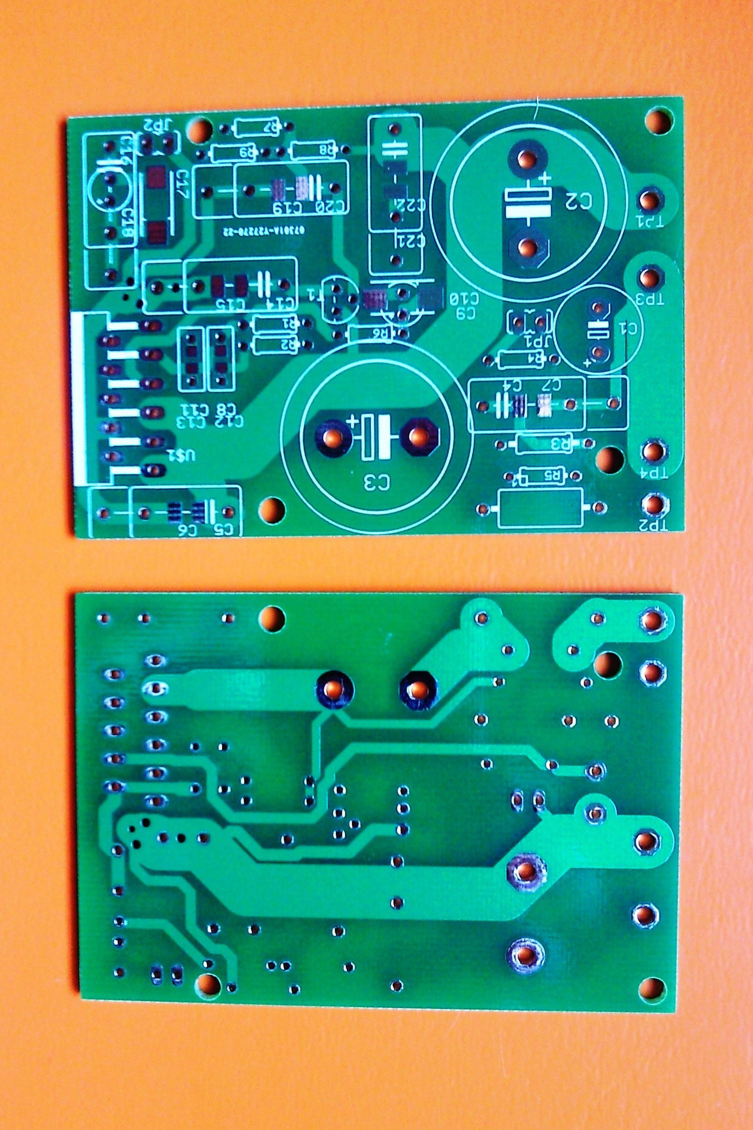 Audio Balanced Line Driver Board From Chichomecho On Tindie Amplifierwith Pcb Sale Bare For Lm3886 Lm2876 Amplifier