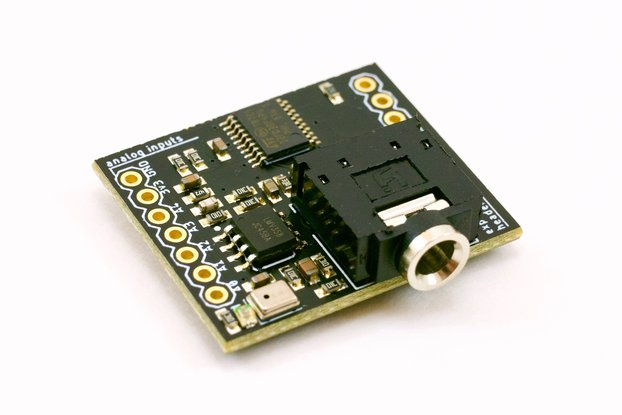 ElectroMage Pixelblaze Sensor Expansion Board
