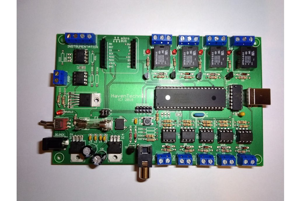 FACTOR - Instrumentation I/O PCB 2