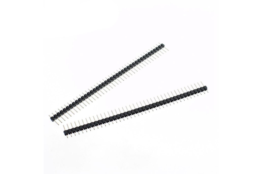20pcs 40 Pin Single Row Male 3