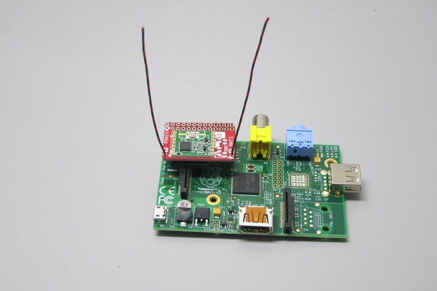RFM69 Radio HAT for Raspberry Pi