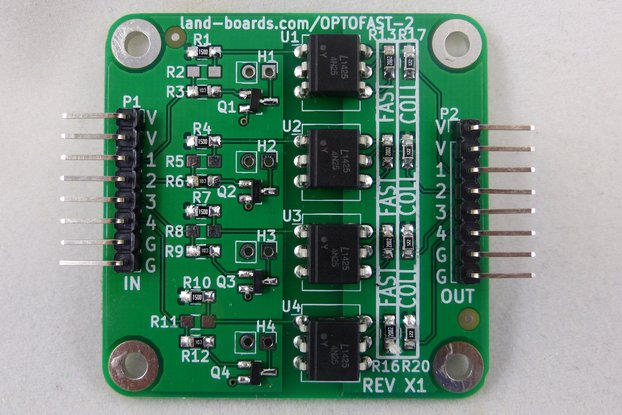 Four Channel OptoCoupler Card (OPTOFAST-2)